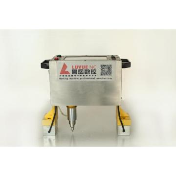 Handheld Dot Peen Marking Machine on Metal