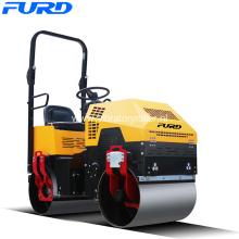 1 ton Double Drum Vibratory Road Roller