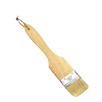 food grade bbq wooden handle bbq grill brush