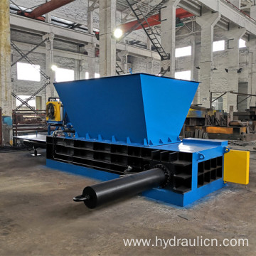 Automatic Hydraulic Steel Cans Baler Pressing Machine