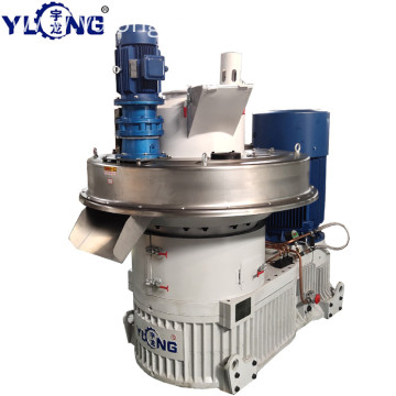 YULONG XGJ560 pellet press machine for corn stalk