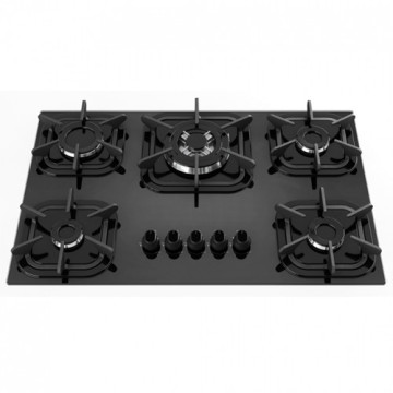 Mueller 5 Burner Stove Black Top