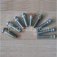 customized knurled wheel studs