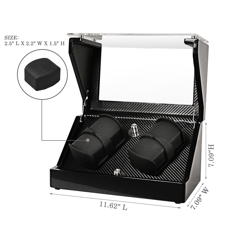 breitling watch winder settings