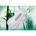 Female sanitary  pads with bamboo fiber
