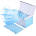 Nonwoven Disposable Earloop 3ply Flat Face mask