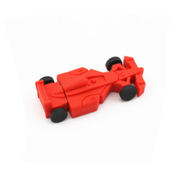 Personalized Racing Car USB Flash Drive