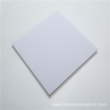 Polycarbonate light diffuser sheet for lampshade