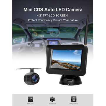 Car Rear View Kit Waterproof and Night Vision