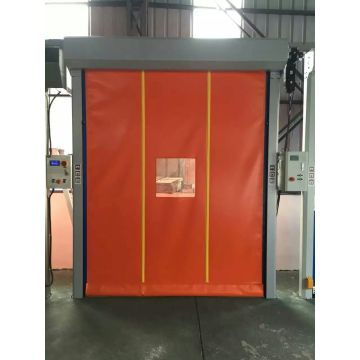 Automatic Self-repairing  Insulated Curtain High-speed door