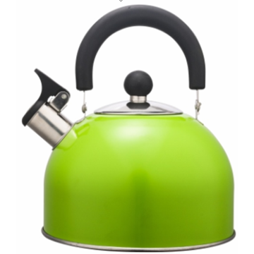 3.0L white whistling tea kettle