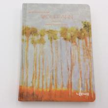 Paper oil painting notebook