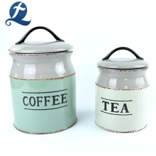 Custom Ceramic Storage Tea Coffee Sugar Jars