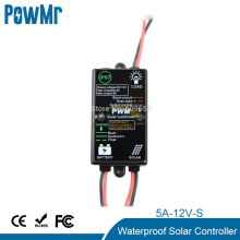 Solar Controller 5A Waterproof Load On From Dark To Dawn 12V Solar Panel Charger Controller PV Battery Charge Regulator