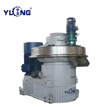 YULONG XGJ560 agro straw pellet machines video