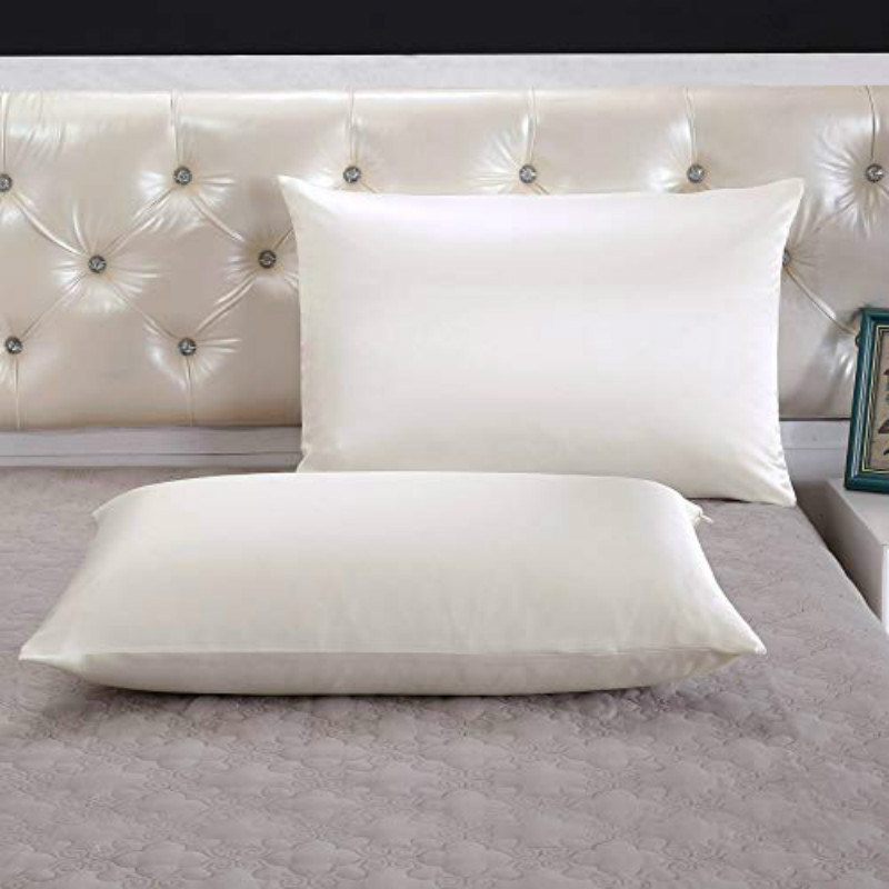 Ivory3 Silk Pillow Case