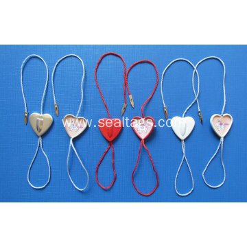Heart metal seal tag for luxury