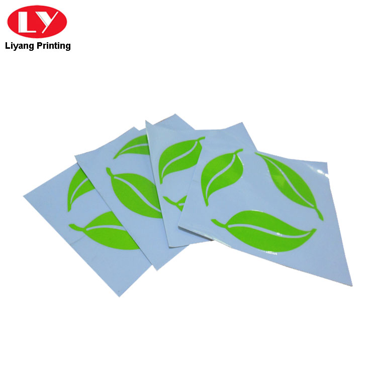 Die Cut Stickers Green