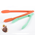 Mint Green Nylon Food Locking Tongs Plastic Sugar Tongs
