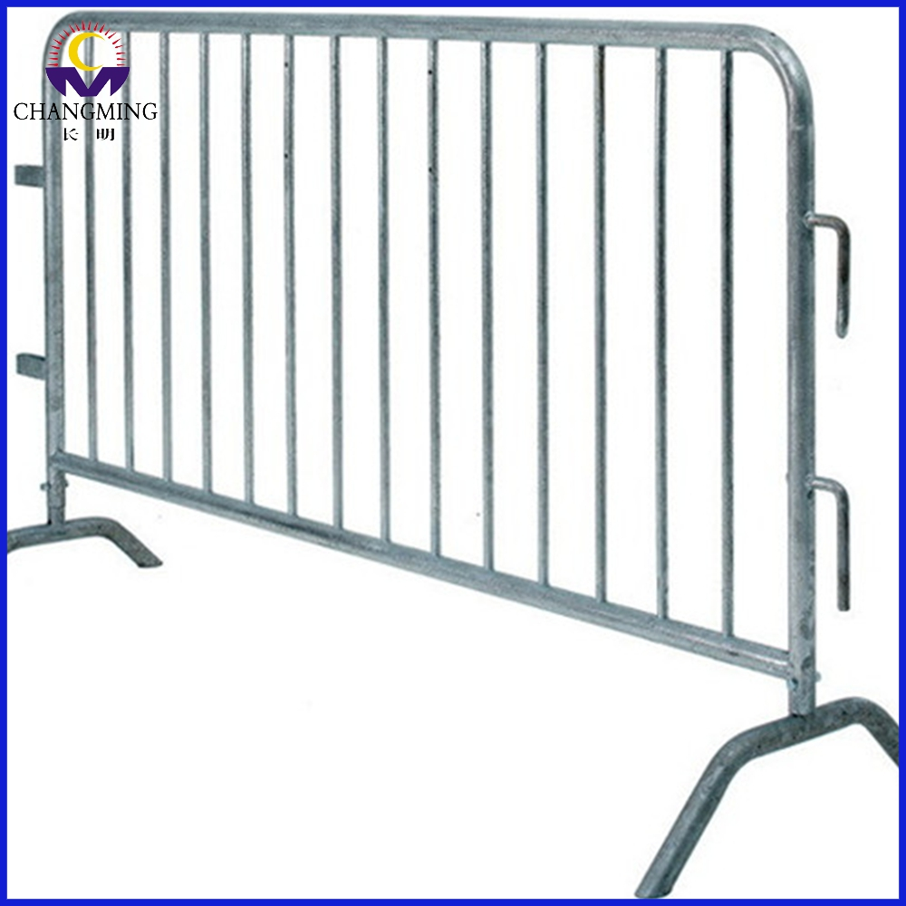 Temporary hot dipped event crowed control barrier
