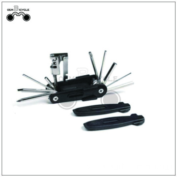 Black bike multi tool hand repair kits