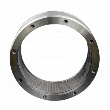 Roller ring dies for pellet machine
