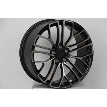 Black machined face 20inch alloy wheel