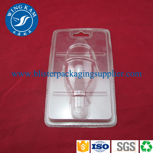 Plastic Clamshell for LED Bulb