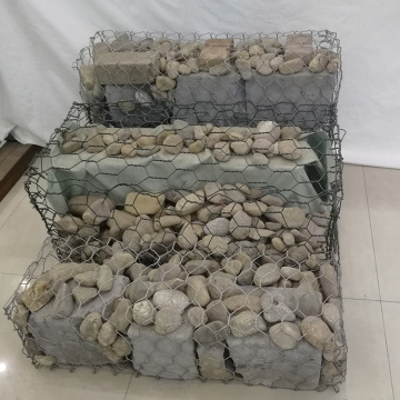 Double Twist Heavy PVC Coated Woven Gabion Basket