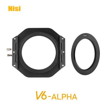 NISI V6 Alpha 100MM Filter Holder Mount for DSLR Camera with 82mm Lens Adapter Flip V6-Alpha Filter Adapter Ring 77/49/67/55mm