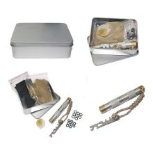 Brass Fire Piston Kit Outdoor Emergency Tools Flame Maker Fire Starter Tube Air compression torch Camping Picnic Outdoor Tools