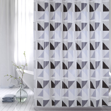 Shower Curtain PEVA Hexagon