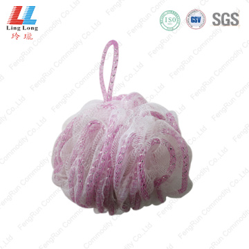 Mesh attract lace sponge ball