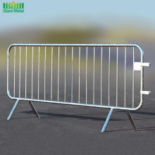 Safety Galvanized Temporary Road Traffic Crowd Barrier Fence