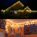 Battery Waterproof Wall Fairy Led Icicle Light