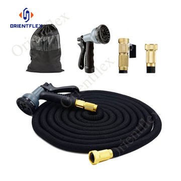 small portable collapsible water hose