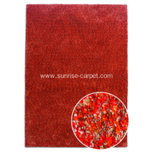 Microfiber with Space Dyed yarn Shaggy Rug