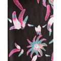 Feather Design Rayon Twill 3024S Printing Woven Fabric