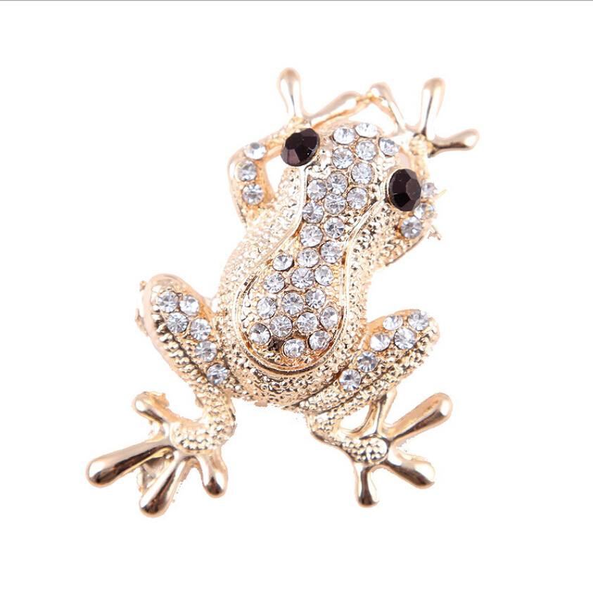 Jingling high quality and beautiful flog brooch pin