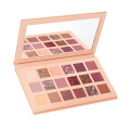 Private Label multicolor eyeshadow cardboard makeup palette