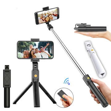 Bluetooth connection Phone selfie stick Sport All In One Portable bluetooth Tripod Selfie Stick Monopod for Iphone 12