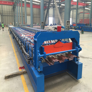 automatic floor deck roll forming machine