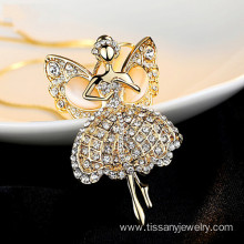 2015  Gold Fairy Pendant