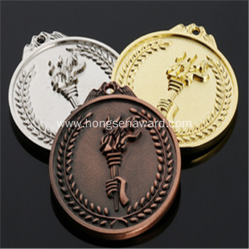Olympic torch medals for sports