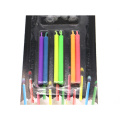 Cone stick color flame birthday candle