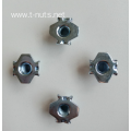 Carbon Steel Stamping Hopper Feed Tee Nuts