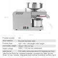 YTK Oil Press Full Automatic Household Flax Seed Press Peanut Oil Press Stainless Steel Cold Press Oil Press 1500W (Max)