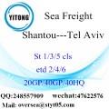 Shenzhen Port Sea Freight Shipping To Tel Aviv