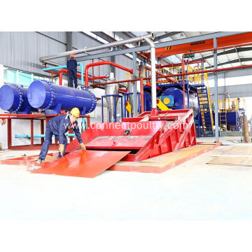 Raw Material bin in rendering plant