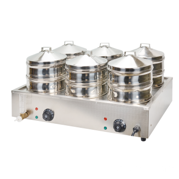 Commercial Electric Stainless Steel Steamer